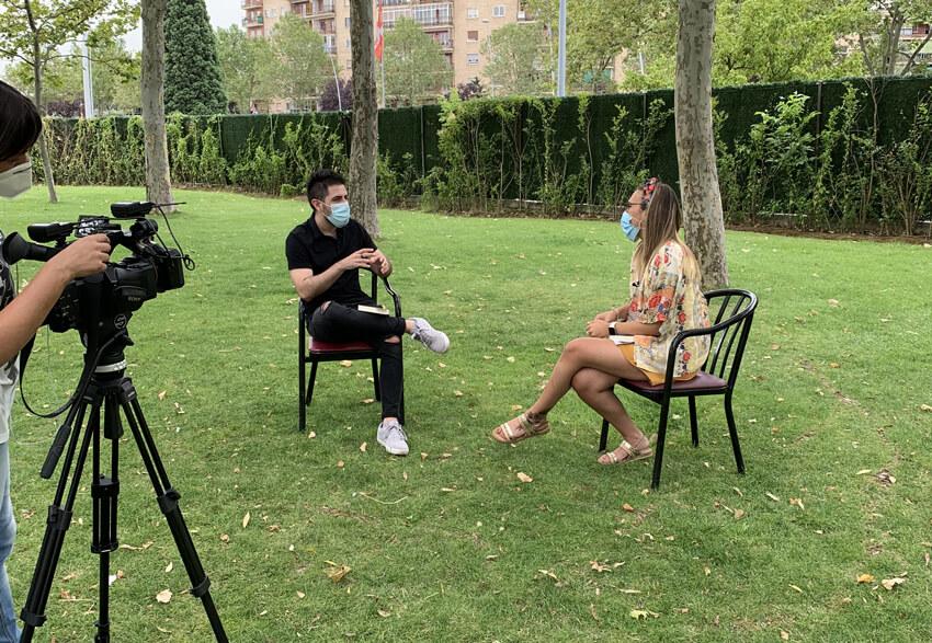 Entrevista para La 8 Salamanca